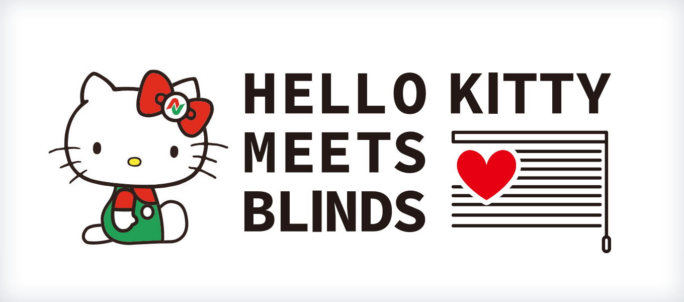 HELLO KITTY MEETS BLINDS